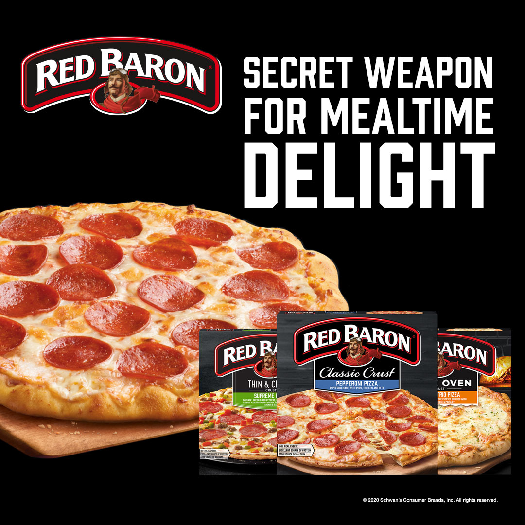 Red Baron Secret weapon for mealtime delight.