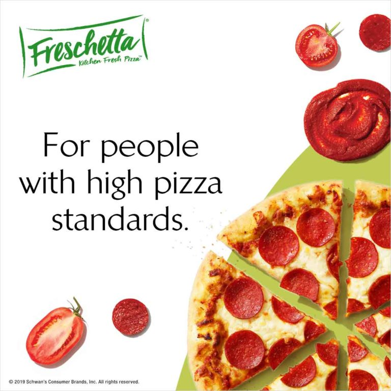 FRESCHETTA® For people with high pizza standards