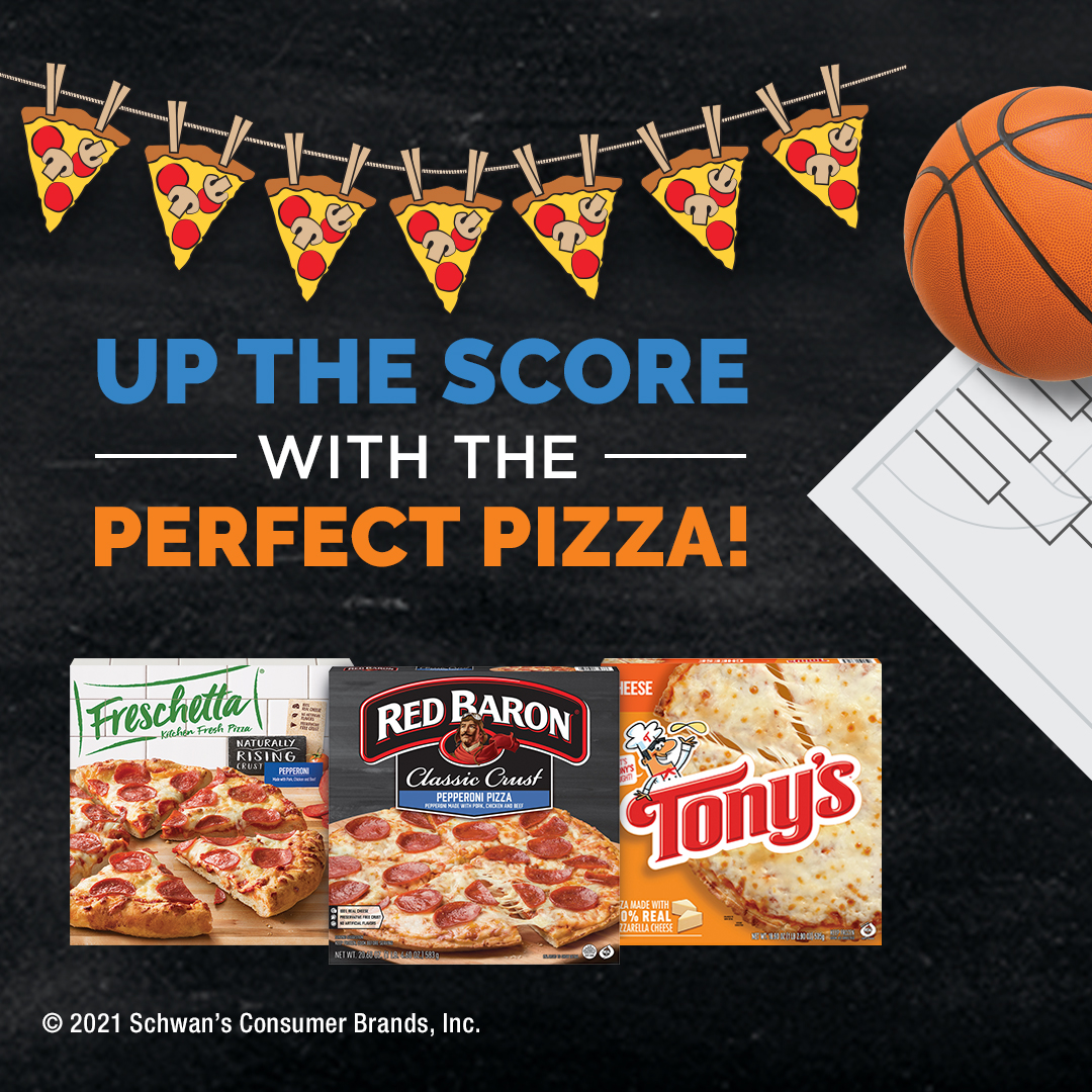 Up the score with the perfect pizza!