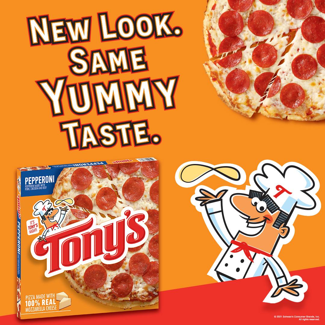 New Look Same Yummy Taste.
