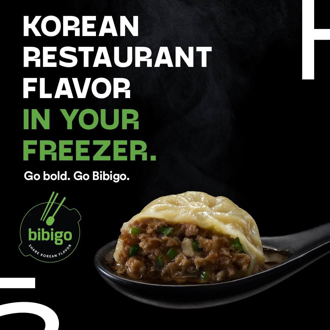 Korean Restaurant Flavor In Your Freezer.